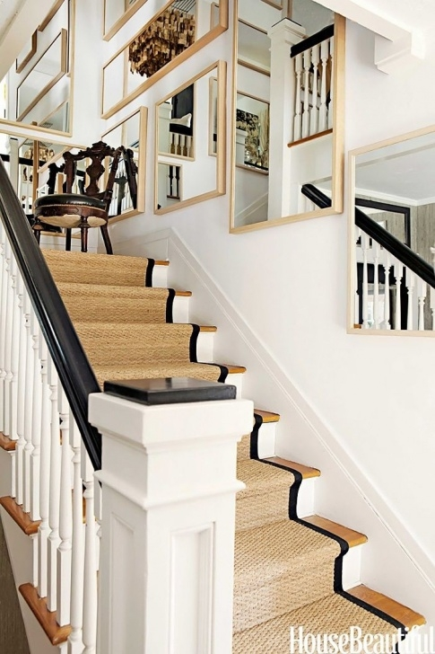 Modern Beautiful House Inside Staircase A 100-Year-Old Farmhouse Goes Modern   Staircase Runner Image 406