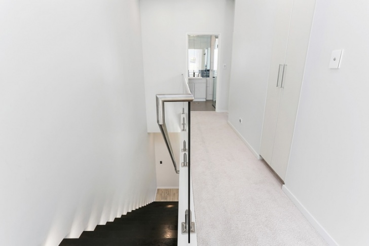 Pic Of Stair In Duplex Widout Reling Duplex Home With Swimming Pool Designed For The Photo 933