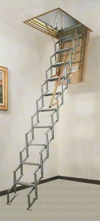 Pole Down Stairs Foldable Stairs | Amazing Folding Attic Stairs | Cool Picture 379