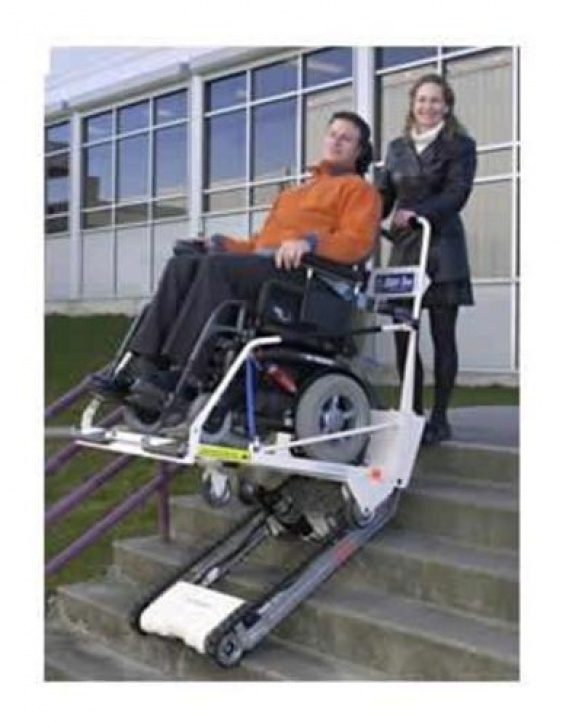 Portable Stairlift Garaventa Super-Trac Portable Stair Climber - Independent Image 646