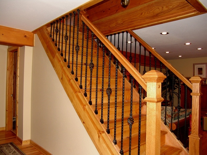Replace Spindles On Stairs Iron Stair Baluster Installation   Networx Picture 658