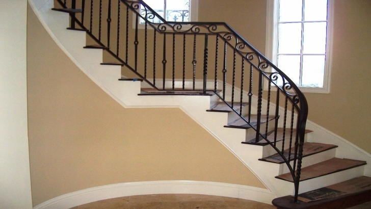 Simple Interior Stair Design Blueprints Simple Wood Dining Table, Wrought Iron Railing Designs Picture 915