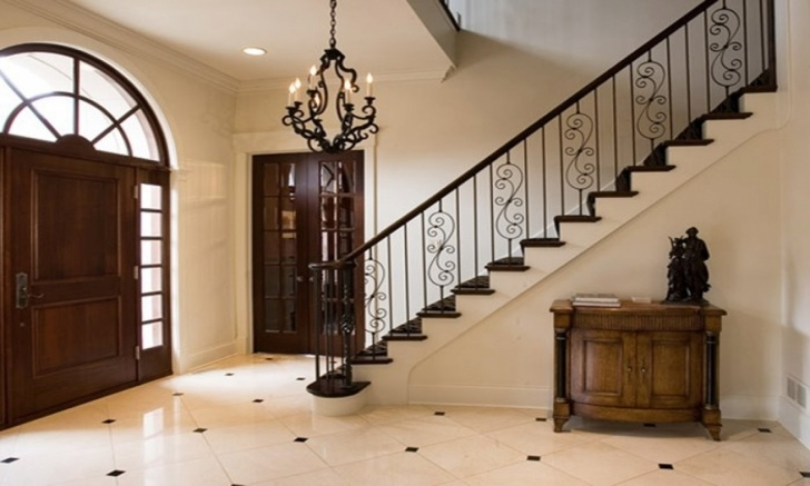 Simple Interior Stair Design Blueprints Staircase Christmas Decorating Ideas, Simple Staircase Picture 481
