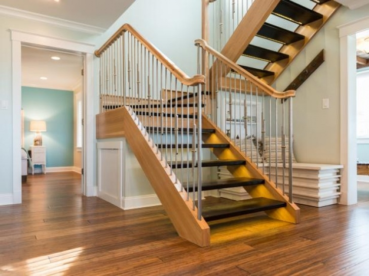 Simple Stairs Design For Home Entryway Pictures From Blog Cabin 2013   Diy Network Blog Picture 798