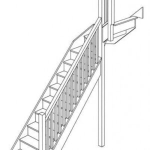 Small Stairs Drawing
