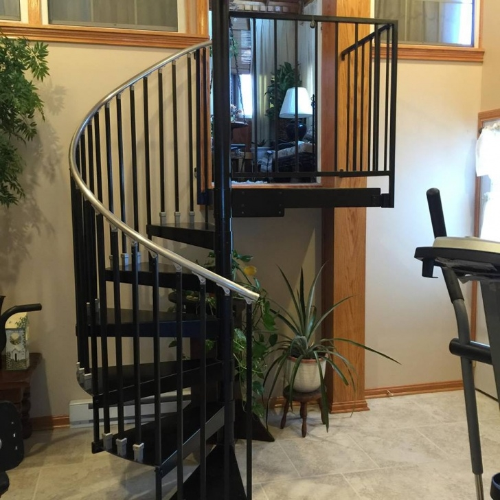 Spiral Staircase Measurement Metal Spiral Stairs Picture 278