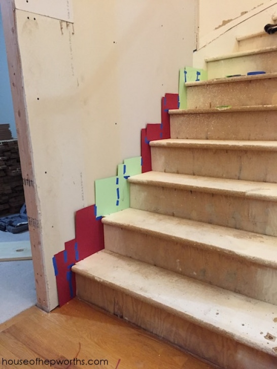 Stair Skirts Creating Your Own Skirting For A Curved Staircase - House Image 574
