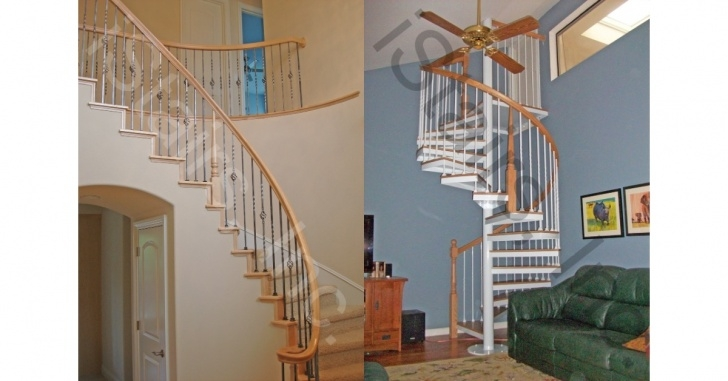 Staircase Size The Dimensions Of A Spiral Staircase | Istairs Picture 009