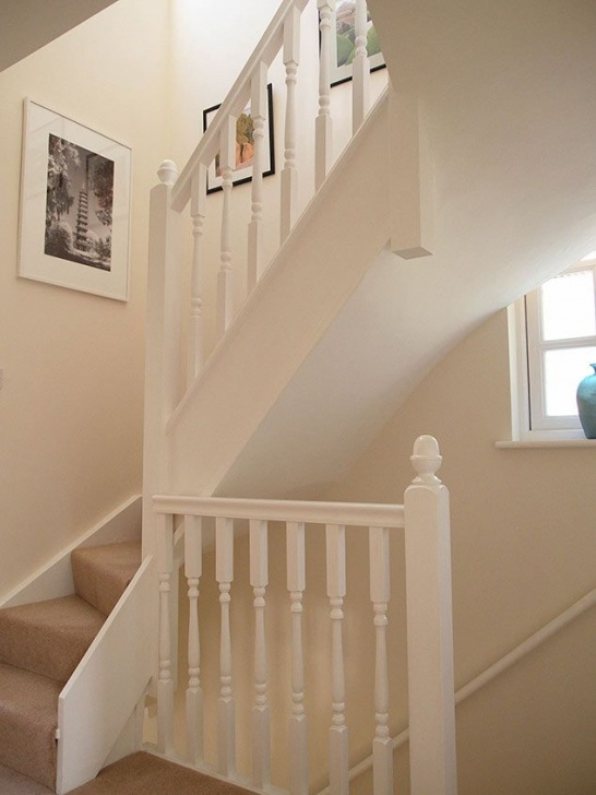 Stairs And Handrails Design Ideas In A Small Space Nice Return For Small Landing. Also Light Up The Stairs Image 267