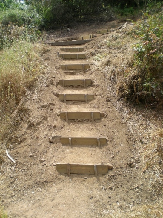 Stairs For Hill Griffith Park Wayist: Amir'S Garden Access Trail Image 442