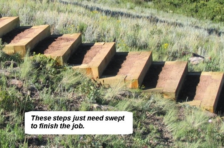 Stairs For Hill How To Build Steps Up A Hill Image 563