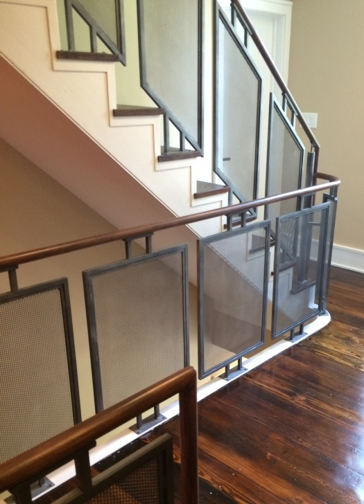 Stairs Steel Railing Design Railings — Capozzoli Stairworks Picture 974