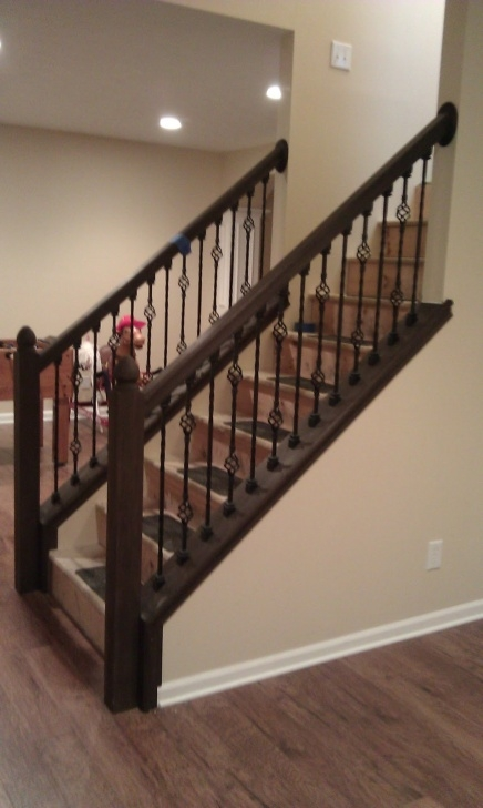 Stairs Steel Railing Design The Latest Interior Design: New Modern Stair Railing 2012 Picture 673
