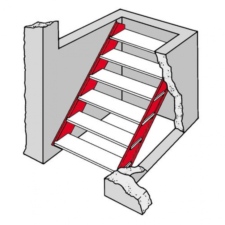 Steel Stair Case And Its Dimension Bilco Long Galvanized Steel Door Stair Stringers At Menards® Image 369
