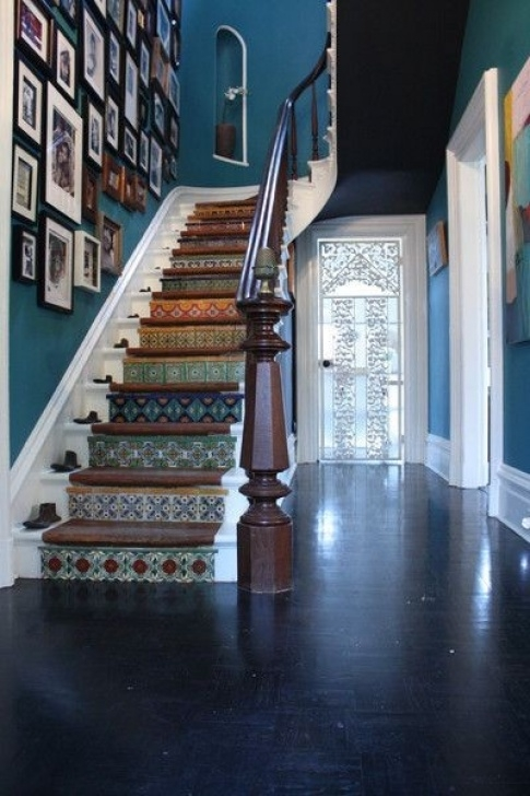 Tile Staircase Ideas 23 Stairs With Style - Messagenote Photo 297