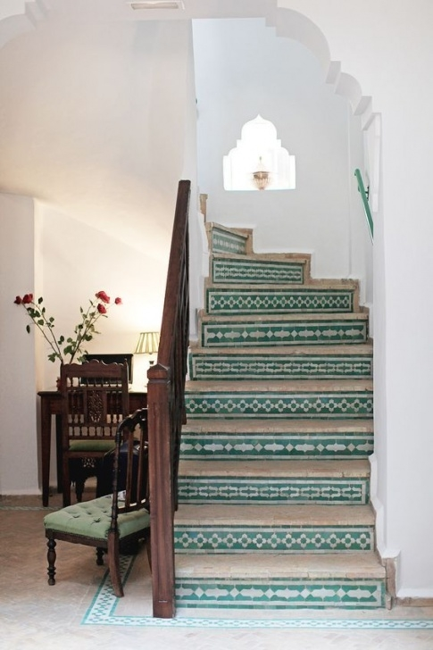Tile Staircase Ideas 81 Best Tile Stairs & Staircases Images On Pinterest Photo 979