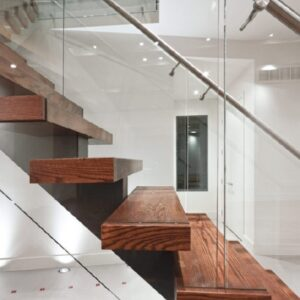 Wall Mounted Floating Stairs