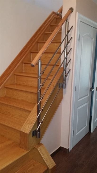 Wall Mounted Floating Stairs Wall Handrail Staircase - Laurel Picture 259